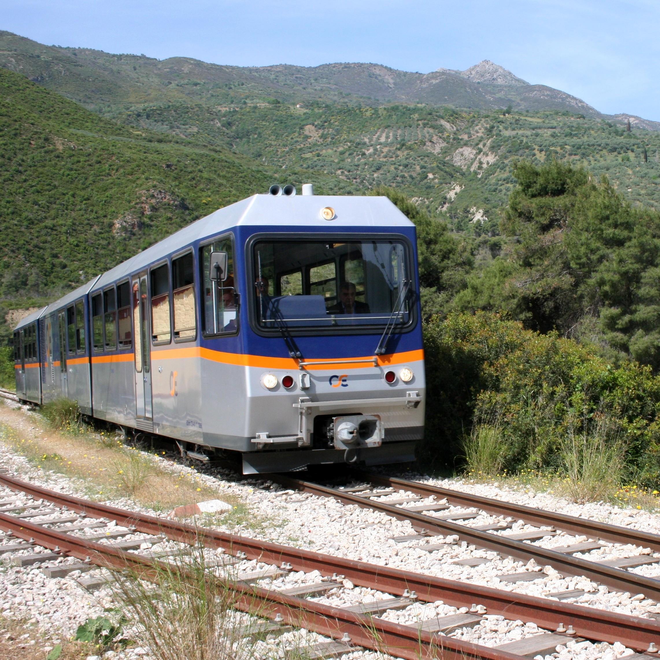 Zug Bahn Fahren
