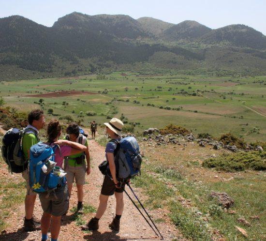 Wandern Griechenland peloponnes E4