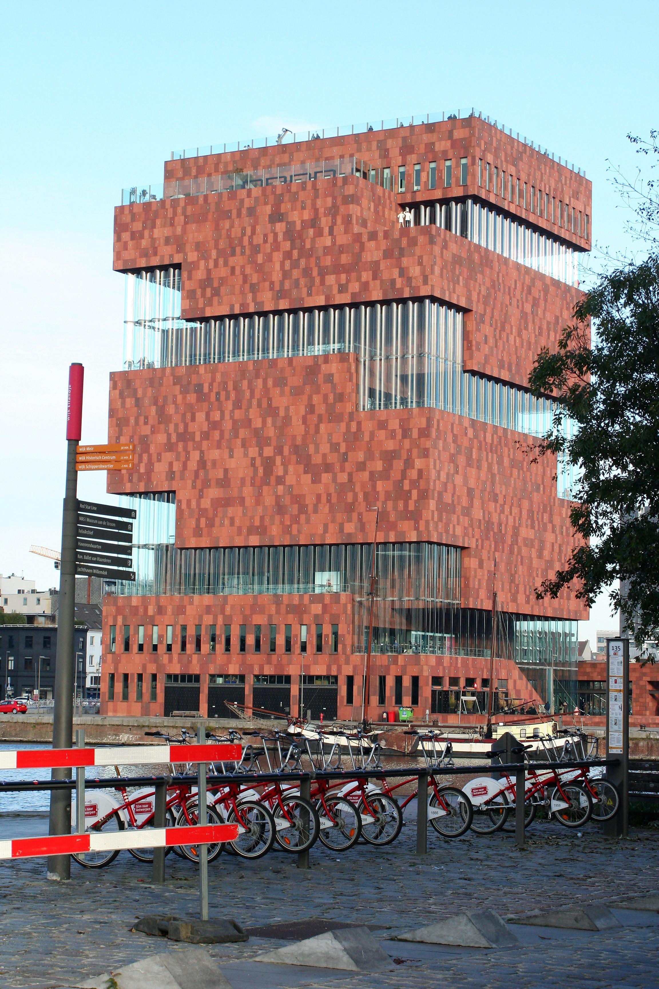 Antwerpen - MAS Museum aan de Stroom