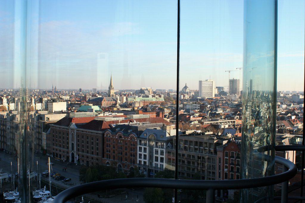 Antwerpen - Blick aus dem MAS auf die Stadt