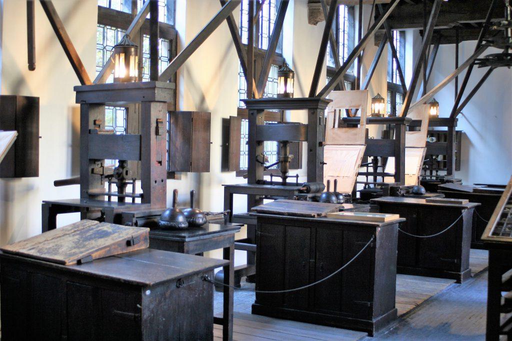 Antwerpen - Plantin Moretus Druckwerkstatt