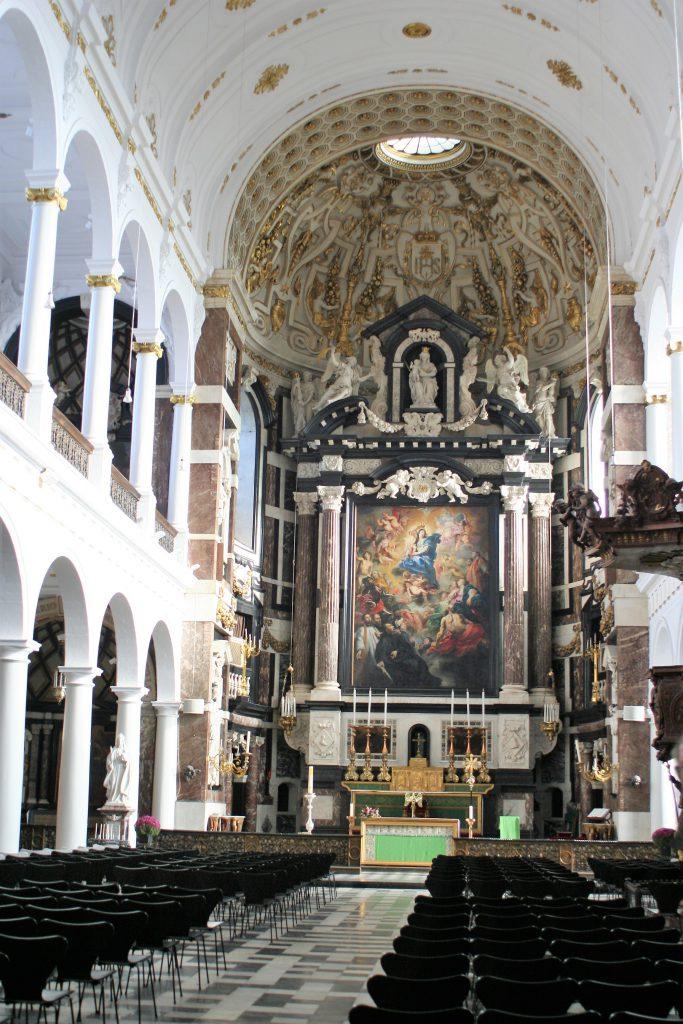 Antwerpen - Carolus Borromeus Kirche innen