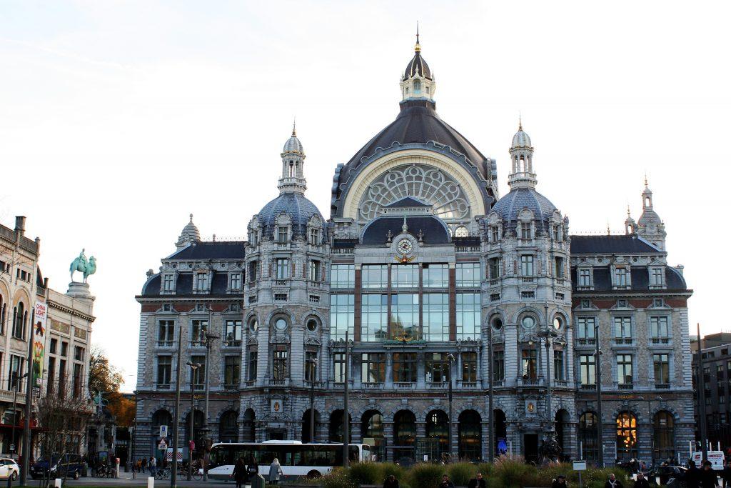 Antwerpen - Jugendstil-Bahnhof
