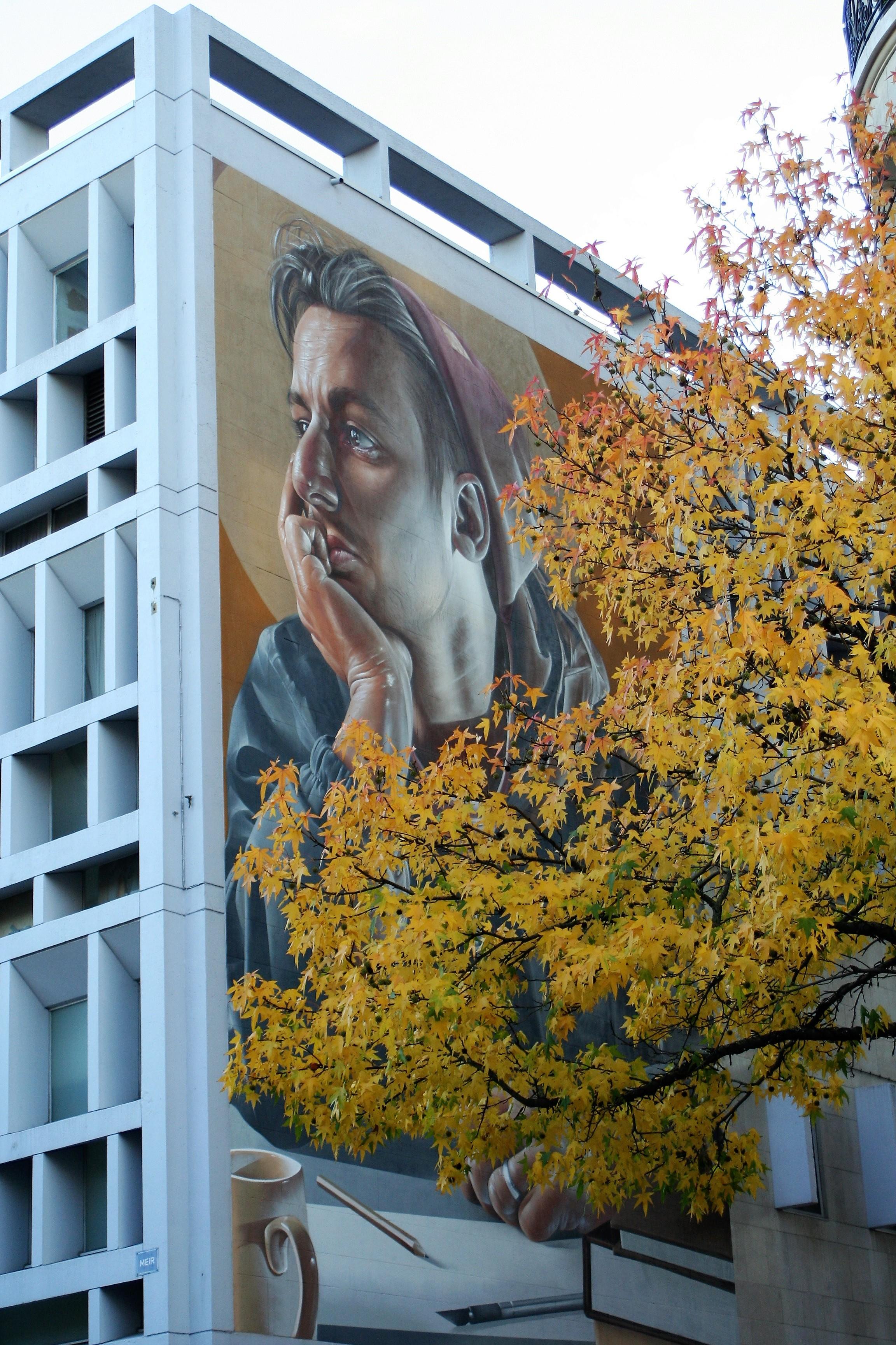 Antwerpen - Fassadenmalerei