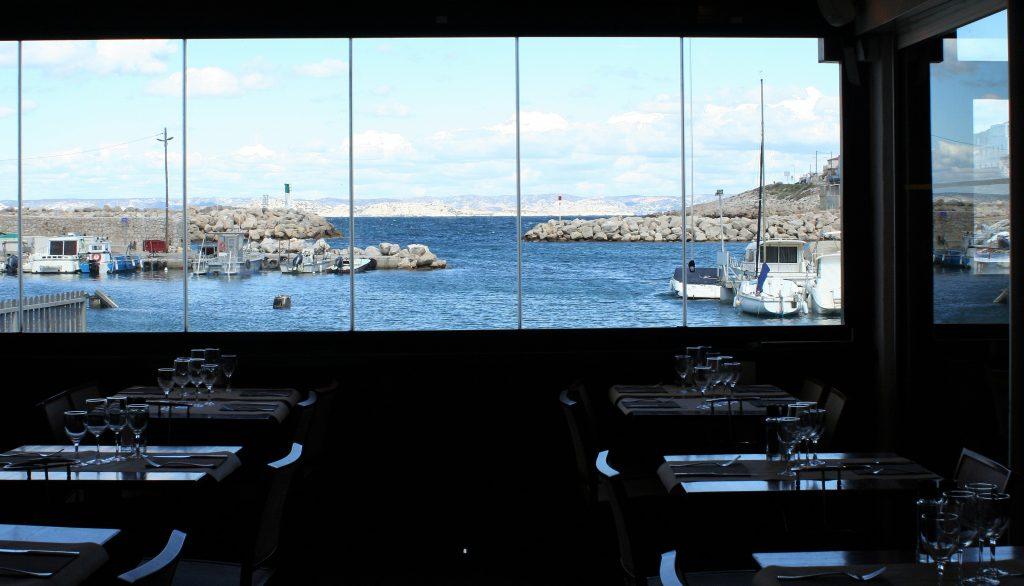 Marseille_Blick aus Restaurant L'esplaï du Grand Bar des Goudes