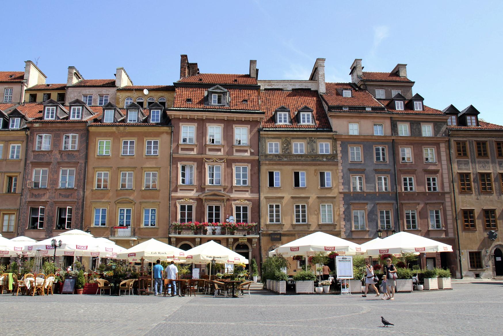 Hauser Exkursionen Altstadt Warschau